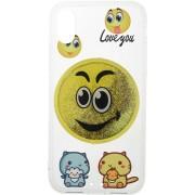 Чехол-накладка TOTO TPU Сartoon Network Case IPhone X Smile