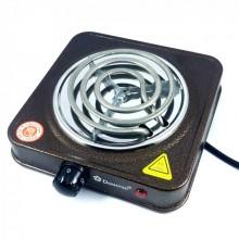 Плита электрическая однокомфорочная спиральная Domotec MS-5801 1000W электроплита