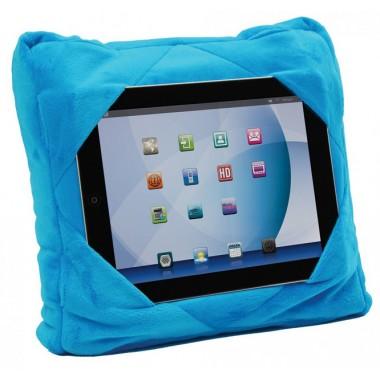 Подушка-подставка 3 в 1 Gogo Мягкая и удобная подушка трансформер Автомобильная подушка для путешествий голубого цвета